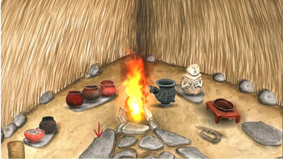 A Journey játékának egyik grafikája